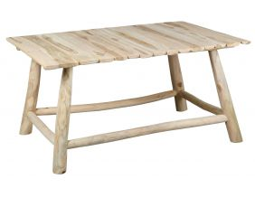 Table basse en teck naturel Arthur