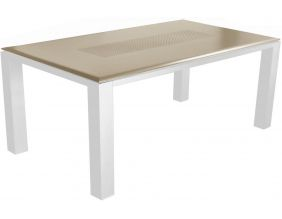 Table de jardin Florence 180 cm (Taupe)