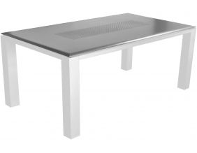 Table de jardin Florence 180 cm (Gris)