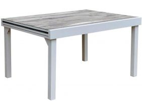 Table jardin Modulo 6 à 10 personnes (Wood)