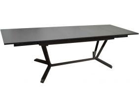 Table jardin avec rallonges bout de table 150-200-250 cm Vita