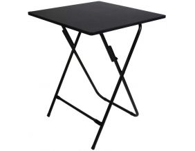 Table pliable en métal 60 cm