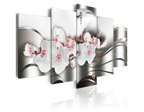 Tableau - The beauty of orchids (100x50)