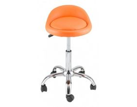 Tabouret de bureau Agathe (Orange)