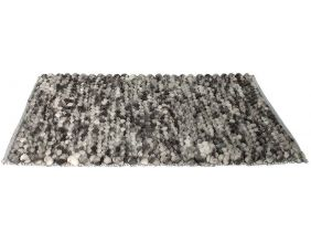 Tapis en polyester grosses mailles Relief (200x140 cm)