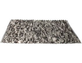 Tapis en polyester grosses mailles Relief (170x120 cm)