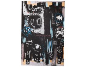 Toile canvas Tags 80 x 120 cm