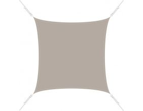 Voile d'ombrage carrée 3x3m (Taupe)