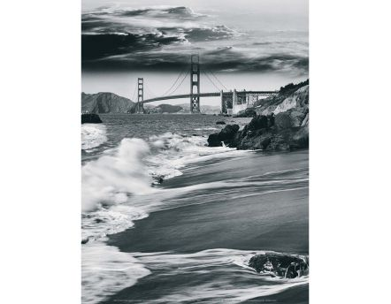 Affiche Golden Gate Bridge - San Francisco - JoSon - 30x40 cm