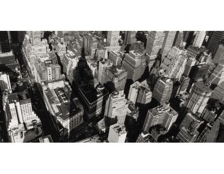 Affiche vue de l'Empire State Building New York
