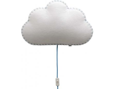 Applique Soft Light nuage (Bleu)