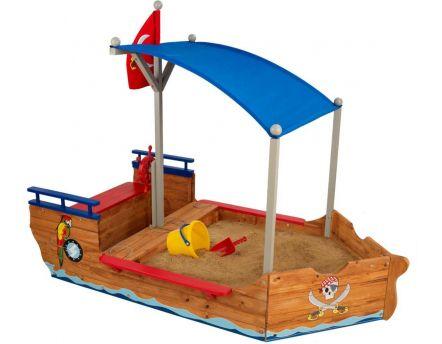 cabane bateau pirate galleon en bois. Black Bedroom Furniture Sets. Home Design Ideas