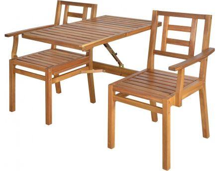 Miroir rond en m tal cuivr - Banc de jardin transformable en table ...