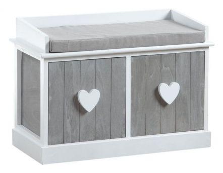 banc coffre de jardin 265l. Black Bedroom Furniture Sets. Home Design Ideas
