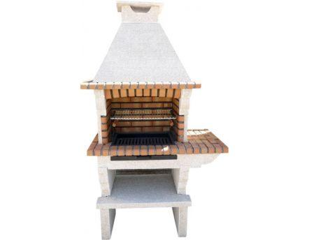 Barbecue en brique for Barbecue exterieur brique