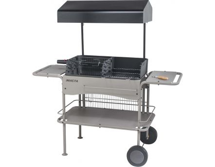 barbecue barbecue charbon de bois sur. Black Bedroom Furniture Sets. Home Design Ideas