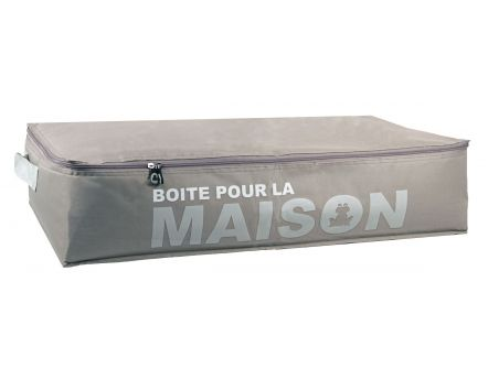 casier 9 cases avec housse will b gris. Black Bedroom Furniture Sets. Home Design Ideas