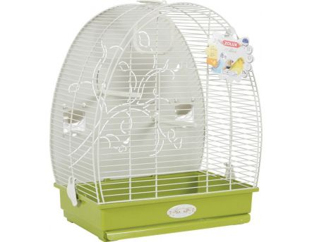 Cage arabesque Alice 40 cm (Olive)