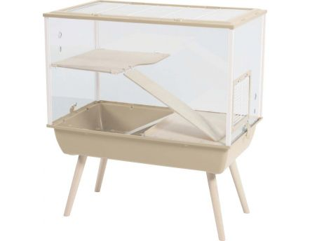 Cage pour rongeurs Nevo palace 87 cm (Beige)