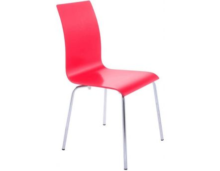 Chaise repas design Classic (Rouge)