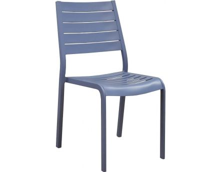 Chaises en aluminium Flower (Lot de 2) (Cobalt)