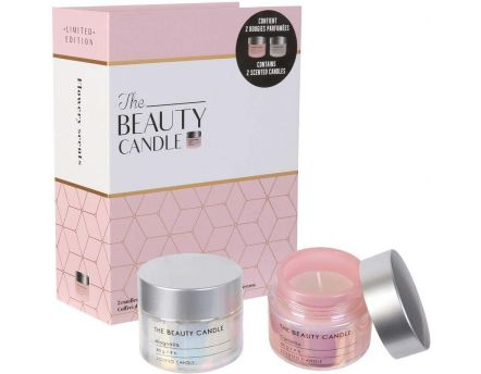 Coffret 2 bougies The beauty candles