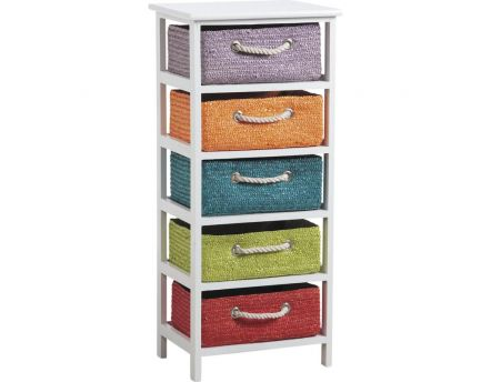 Commode 5 tiroirs Couleurs