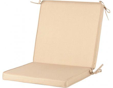 chaise banc et fauteuil coussin et galette. Black Bedroom Furniture Sets. Home Design Ideas