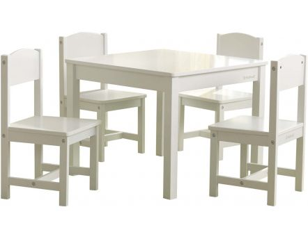 Ensemble table et 4 chaises Farmhouse