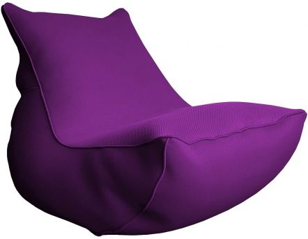 Fauteuil lounge Big Bag de piscine (Aubergine)