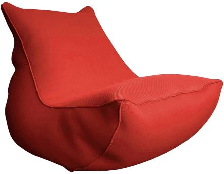 Fauteuil lounge Big Bag de piscine (Rouge)
