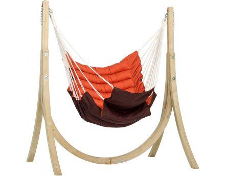 fauteuil suspendu avec support taurus. Black Bedroom Furniture Sets. Home Design Ideas