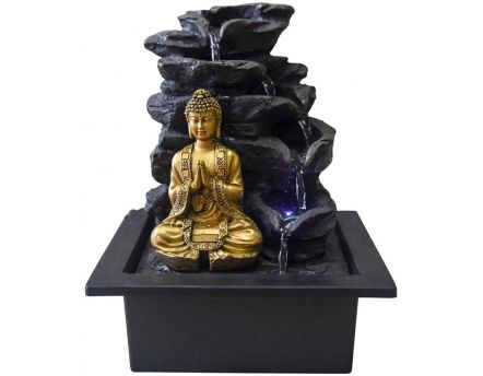 Fontaine bouddha LED Shira