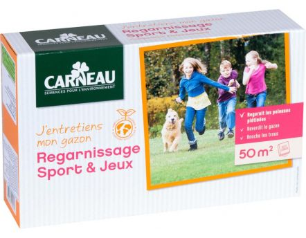 Gazon regarnissage sport (1 kg)