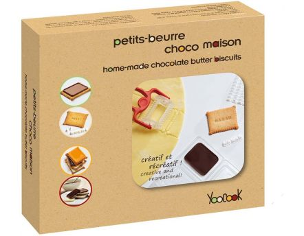 Kit biscuiterie petits-beurre choco maison