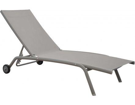 bains de soleil en aluminium flaty lot de 2. Black Bedroom Furniture Sets. Home Design Ideas