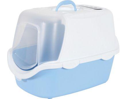 maison de toilette avec filtre odeurs bleu. Black Bedroom Furniture Sets. Home Design Ideas