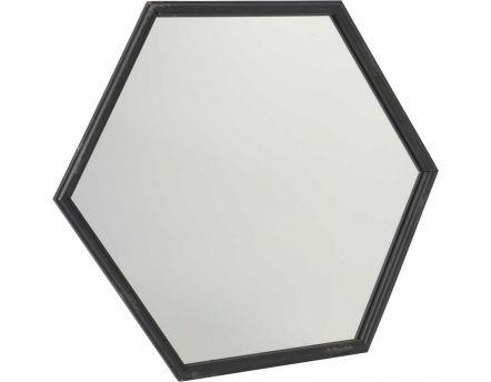 D coration murale miroir sur for Miroir hexagonal cuivre