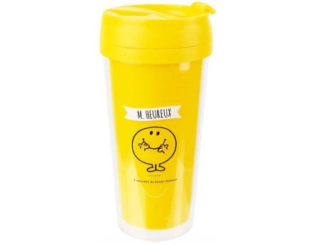Mug de transport Monsieur Madame 40cl (M Heureux)
