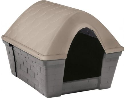 Niche casa Felice gris/taupe (Large)