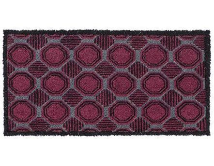Paillasson coloris bordeaux Chic Graphic