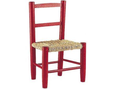 Chaise enfant en bois gris - Petite chaise en bois pour bebe ...