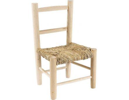 Table et chaises enfant en bois for Chaise enfant bois