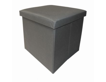 Pouf pliable Oxford (Gris)