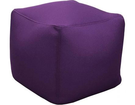 Pouf de piscine Big Bag 40 cm (Aubergine)