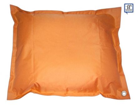 Pouf de piscine flottant XL (Orange)