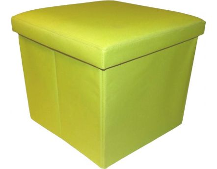 Pouf pliable Oxford (Anis)