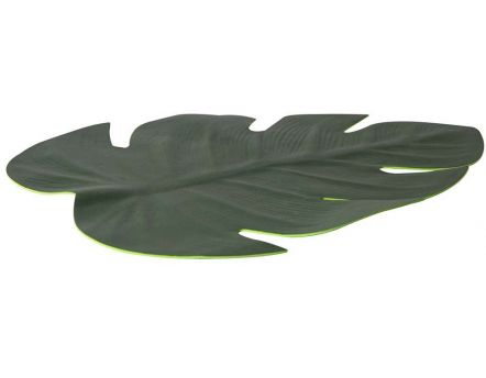 Set de table feuille tropicale 46 cm