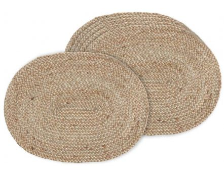 Set de table en jute (Lot de 6)