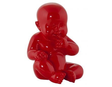 Statue design bébé Sweety (Rouge)